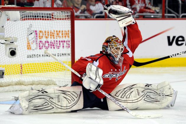 NHL Playoffs 2012: Braden Holtby's Huge Night Helps Caps Even the Series 2-2