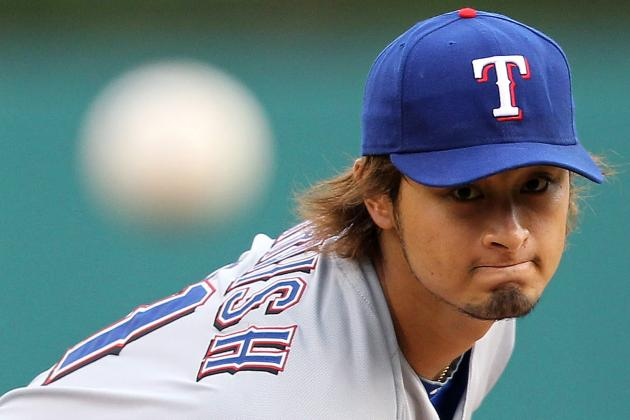 Texas Rangers' Yu Darvish Continues to Improve in 3rd Major League Start