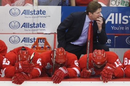 Detroit Red Wings Are on Brink of Elimination After Loss at Home