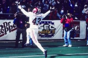 Classic SEC Football: Alabama Tops Florida in the 1992 SEC Championship Game