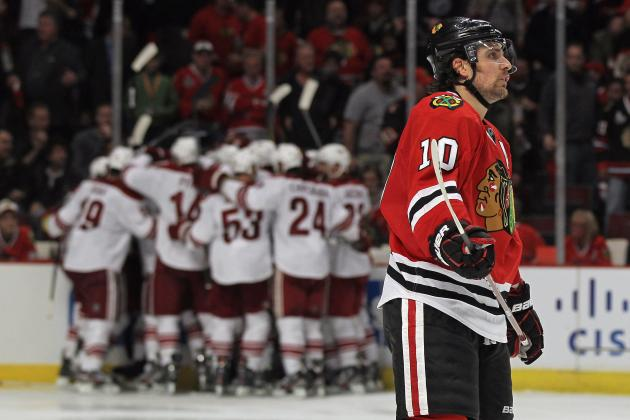 2012 Stanley Cup Playoffs: Competitive Balance Exemplified in First Round