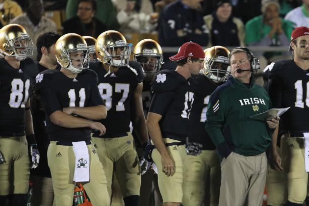 Notre Dame Spring Game: Irish Fans Should Ignore QB Stats in Blue-Gold Game