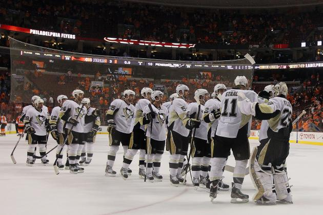 2012 Stanley Cup Playoffs: Fleury, Penguins Hold On, Beat Flyers 3-2