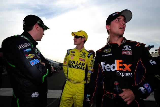 Why Kyle Busch, Denny Hamlin and Joey Logano Must Get Back on Track at Kansas