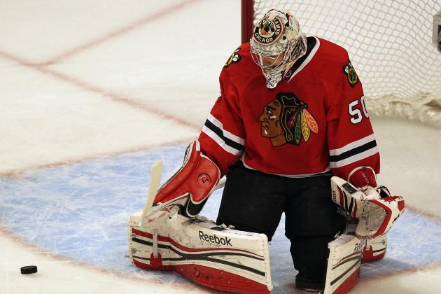 NHL Playoffs 2012: Should the Chicago Blackhawks Consider a Change in Goal?