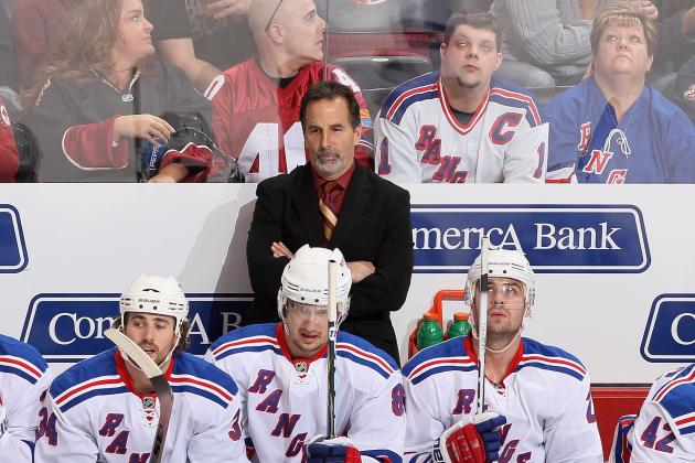 NHL Playoffs 2012: Why New York Rangers Coach John Tortorella Needs to Step Up