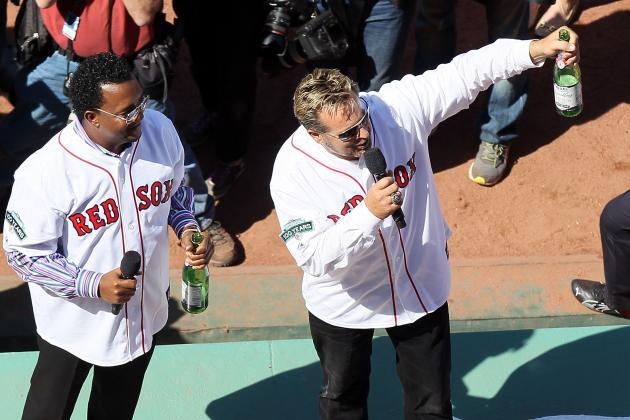 Fenway Park Toasts 100 Years: Kevin Millar and Pedro Martinez Lead the Salute