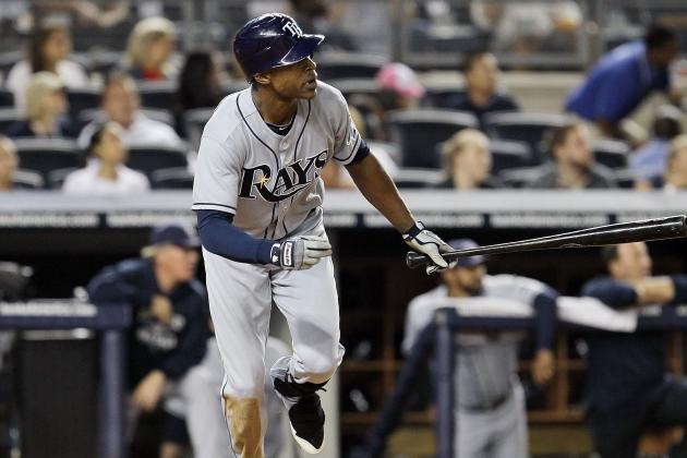 Tampa Bay Rays Center Fielder B.J. Upton Returns from Back Injury