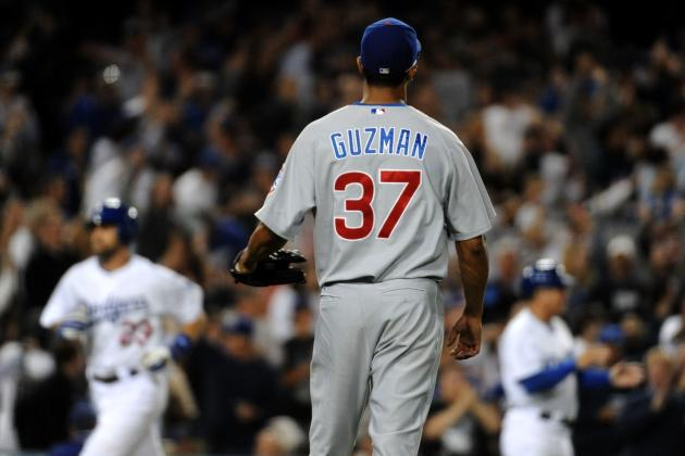 Chicago Cubs: Former Top Prospect Angel Guzman Suspended for Drug Use