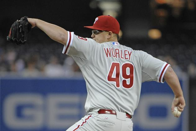 Philadelphia Phillies: Vance Worley Tosses a Gem and Records a Career-High