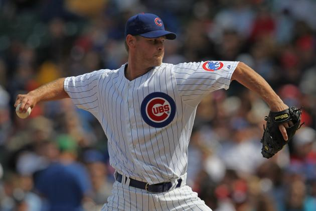 Kerry Wood of the Chicago Cubs Placed on the 15-Day DL with Shoulder Fatigue
