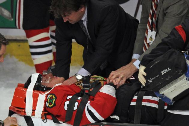 Marian Hossa Injury Update: Chicago Blackhawks Star to Miss Game 5