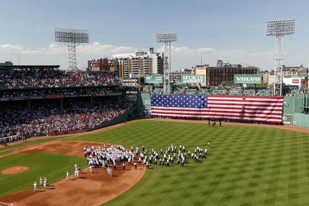 Boston Red Sox Fans, Fenway Park Celebrate Past, but Lament Recent History