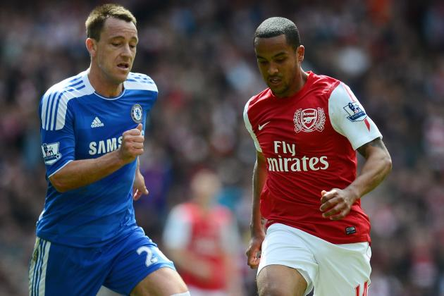 Theo Walcott out for Rest of Season, Says Arsene Wenger, but Fit for Euro 2012