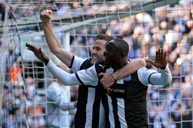 Yohan Cabaye Strikes Twice as Newcastle Rout Stoke City