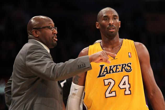 L.A. Lakers: Can Kobe Save the Lakers from Mike Brown's Poor Coaching?