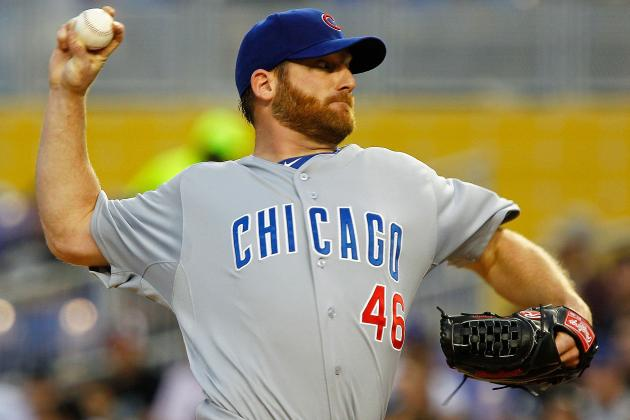 Cubs' Dempster Put on DL with Strained Quad
