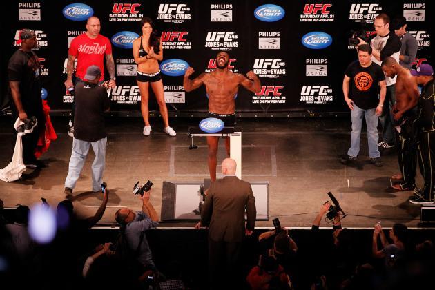 UFC 145 Jon Jones vs. Rashad Evans: High Stakes Tonight in Atlanta