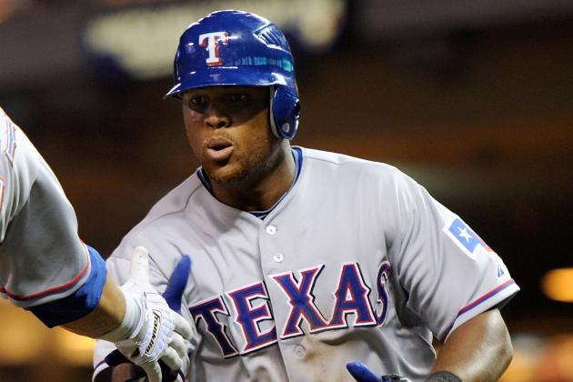 Adrian Beltre Day-to-Day with Left Hamstring Strain