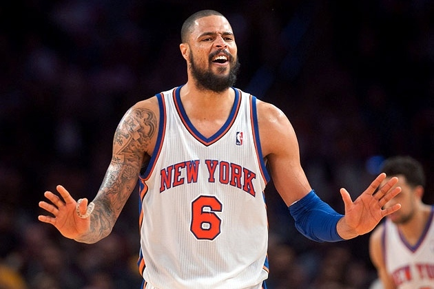 New York Knicks: Should Tyson Chandler Be in the MVP Discussion?