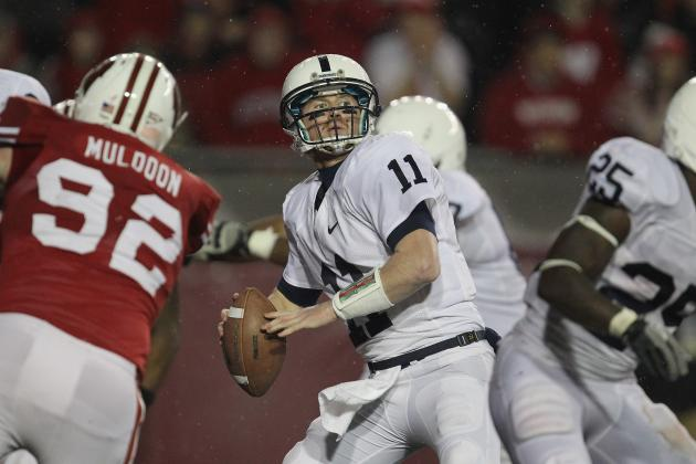 State College, PA - Mixed Bag of Play from Quarterbacks in Blue-White Game