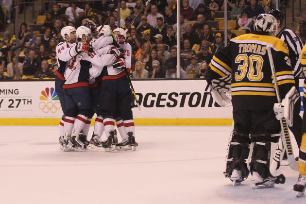 Washington Capitals Take Series Lead 3-2, Boston Bruins Face Elimination
