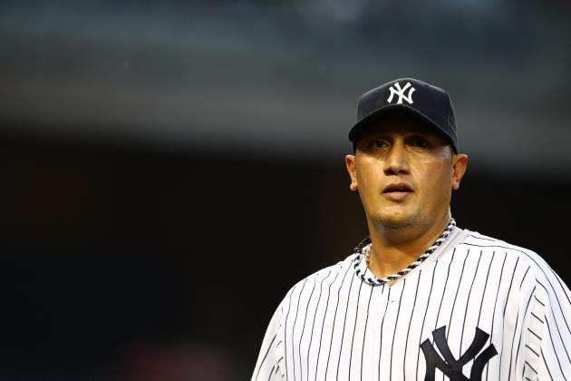 Freddy Garcia Gets Shelled Again, Time for the Yankees to Make a Change