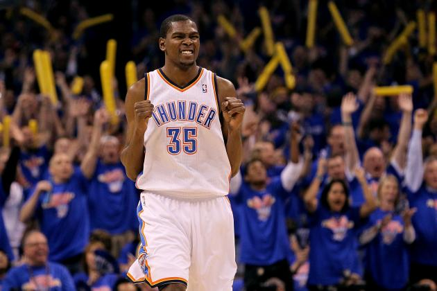 Scoring Title Will Vault Oklahoma City Thunder's Kevin Durant into the MVP Award