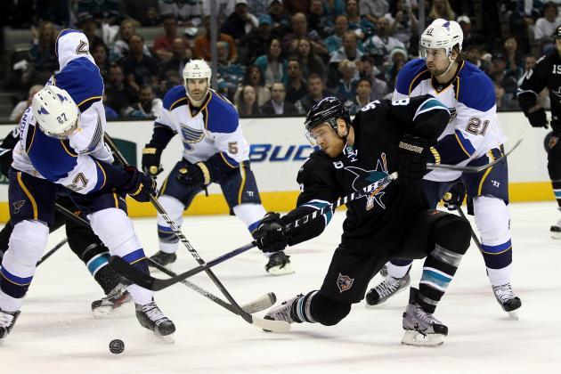 San Jose Sharks vs. St. Louis Blues - GameCast - April 21, 2012 - ESPN