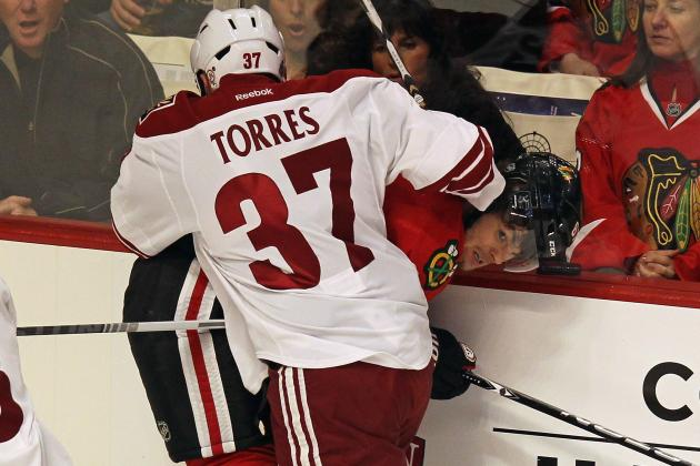 NHL Playoffs 2012: Raffi Torres Suspension Makes No Sense