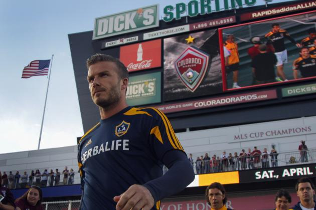 Los Angeles Galaxy vs. Colorado Rapids: Rating David Beckham's Performance