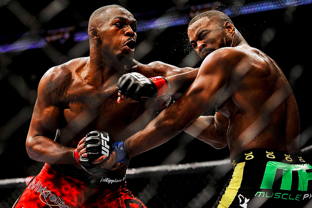 UFC 145 Results: Jon Jones Invents New Ways to Clobber Rashad Evans
