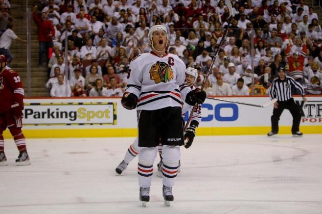 NHL Playoffs 2012: Jonathan Toews Scores Game-Winner as Blackhawks Force Game 6