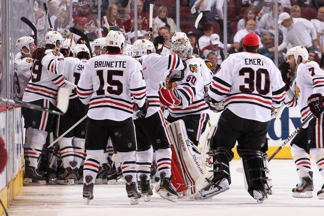 NHL Playoffs 2012: Chicago Blackhawks Stay Alive, Shaw to Return in Game 6
