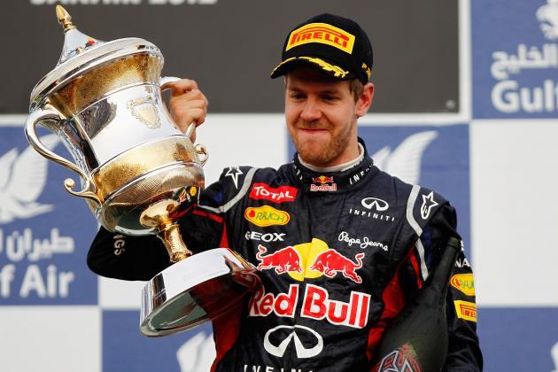 Sebastian Vettel Holds off Kimi Raikkonen in Bahrain Thriller