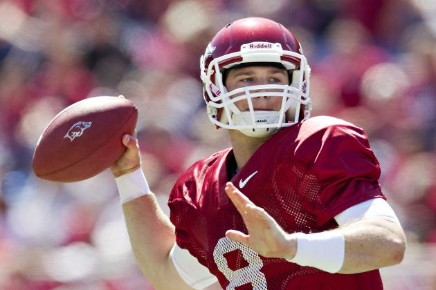 Wilson Shines During Arkansas Spring Game