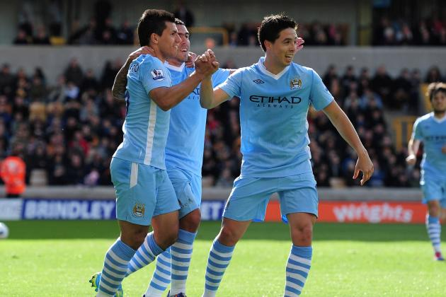 Wolves 0-2 Manchester City: Aguero and Nasri Efforts Relegate Wolves