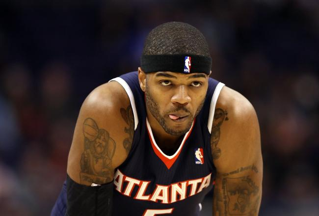 Josh Smith had a rough first half.