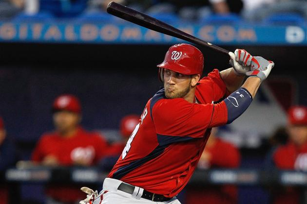 The Wait Is Over: Watch Bryce Harper Smash First Home Run in Triple-A