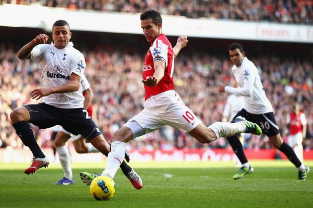 PFA Names Robin Van Persie and Kyle Walker Player and Young Player of the Year
