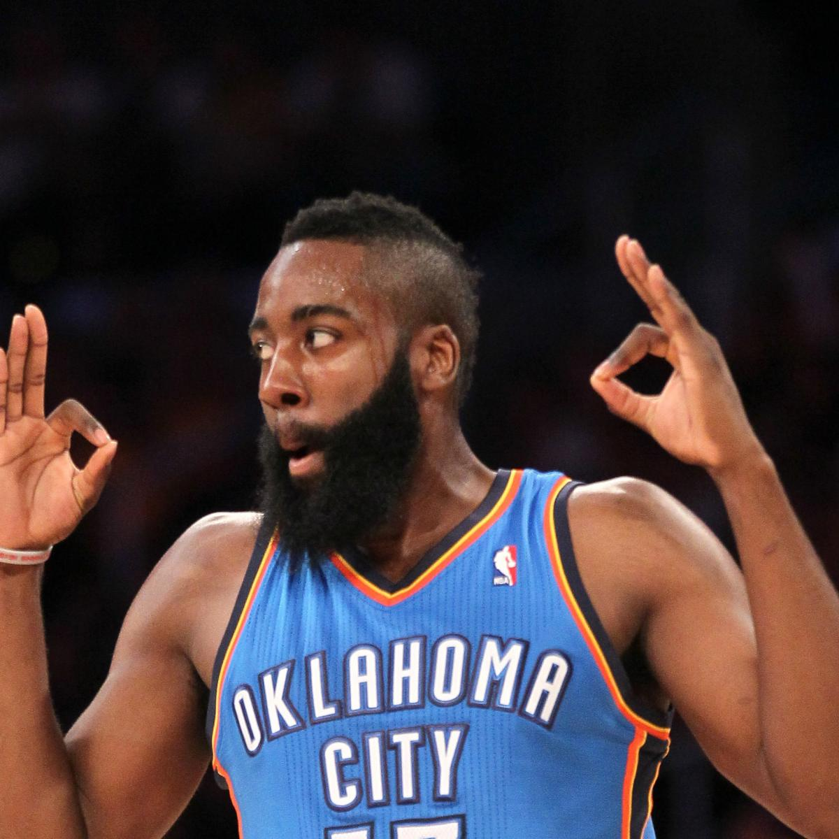 James Harden Injury Report: James Harden Injury: Updates On Thunder Star's Head Injury