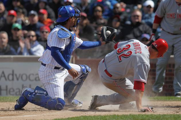 Miscues Cost Chicago Cubs Their First Series Win, Reds Win 4-3