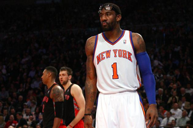 NBA Playoffs 2012: Why Amar'e Stoudemire Should Come off of the Bench
