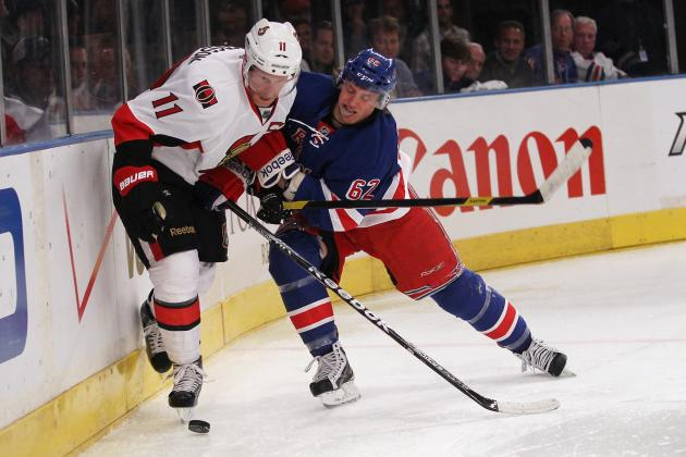 Ottawa Senators vs. New York Rangers: Daniel Alfredsson Will Play Tonight