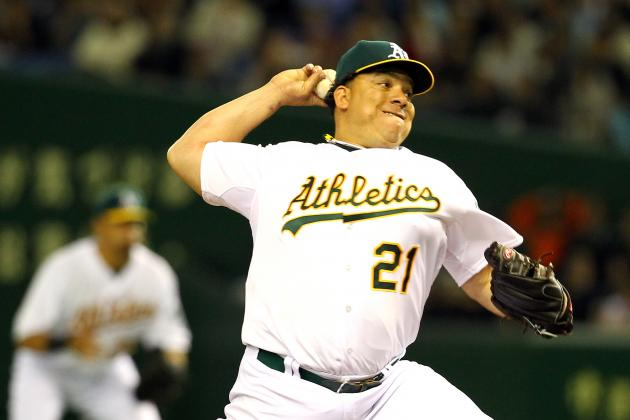 Oakland A's: How Long Can Bartolo Colon Extend His Scoreless Innings Streak?