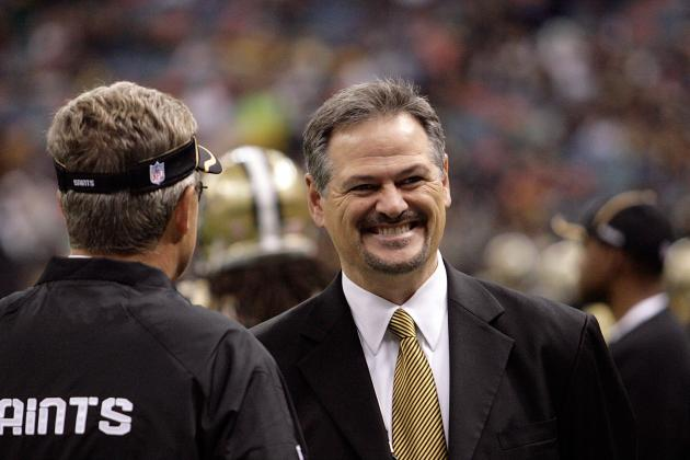 Saints' GM Loomis Falls out of the Frying Pan, into the Fire in New Scandal