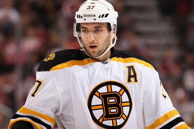 Boston Bruins: Patrice Bergeron a Selke Trophy Finalist; Should He Win It?