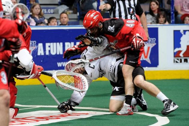 National Lacrosse League 2012: Nolan Heavenor Scores an Incredible Goal