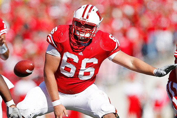 Green Bay Packers 2012 Draft: Profiling Peter Konz, C, Wisconsin