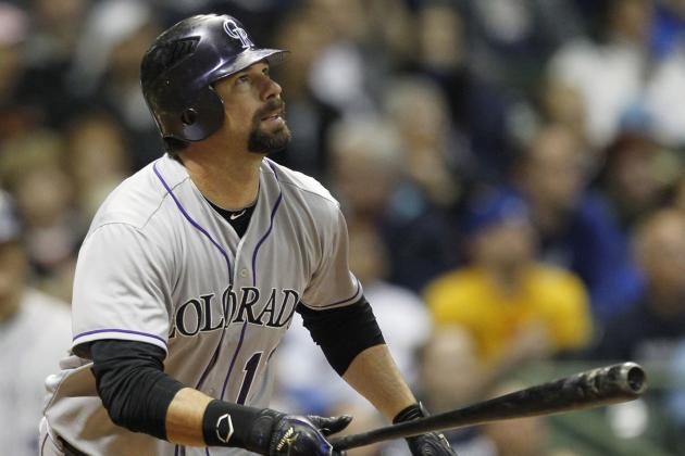 Fantasy Baseball:  Is Todd Helton Done?